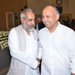 AIMF PRESIDENT  MR. S. M ASIF WITH DEUPUTY CHIEF MINISTER MANISH SISODIA